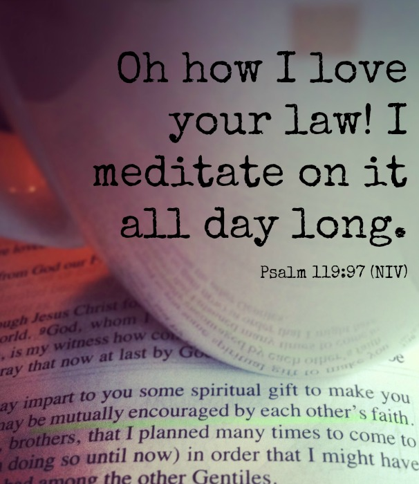 Ten Steps to Meditating on the Bible